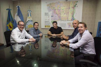 Jorge Macri se reunió con Leo Nardini