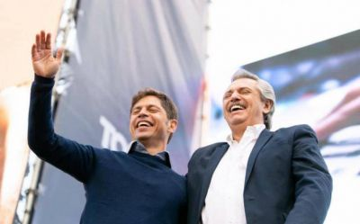 Fernández y Kicillof mantienen alta aprobación en la Provincia y se desmorona la oposición