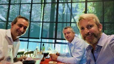 Monzó y Frigerio trabajan activamente en la candidatura presidencial de Larreta