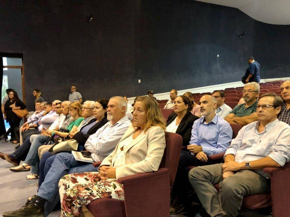 El vice intendente López estuvo en la presentación del Proyecto de Gestión Integral de Residuos Sólidos Urbanos