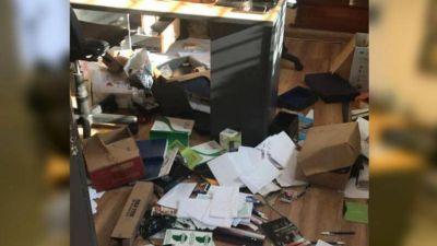 El Surrbac denunció que violentaron y robaron en la sede sindical