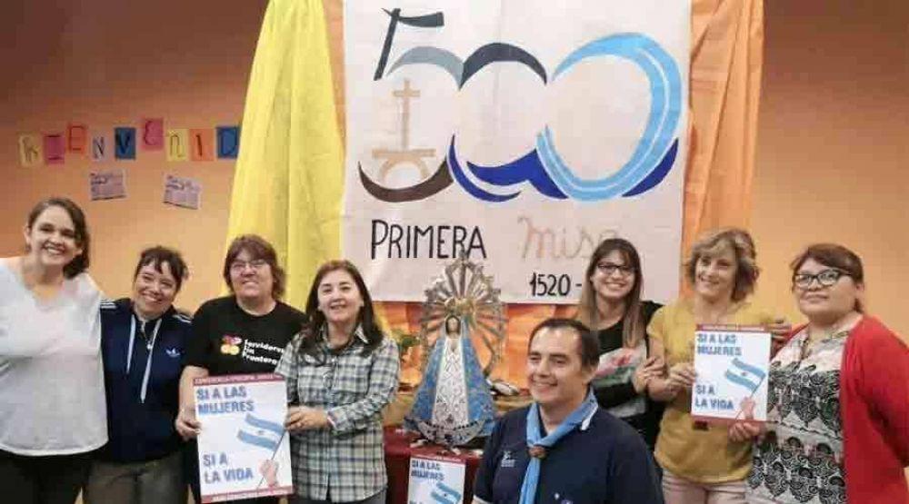 Este lema alienta conmemoración de 500 años de primera Misa en Argentina