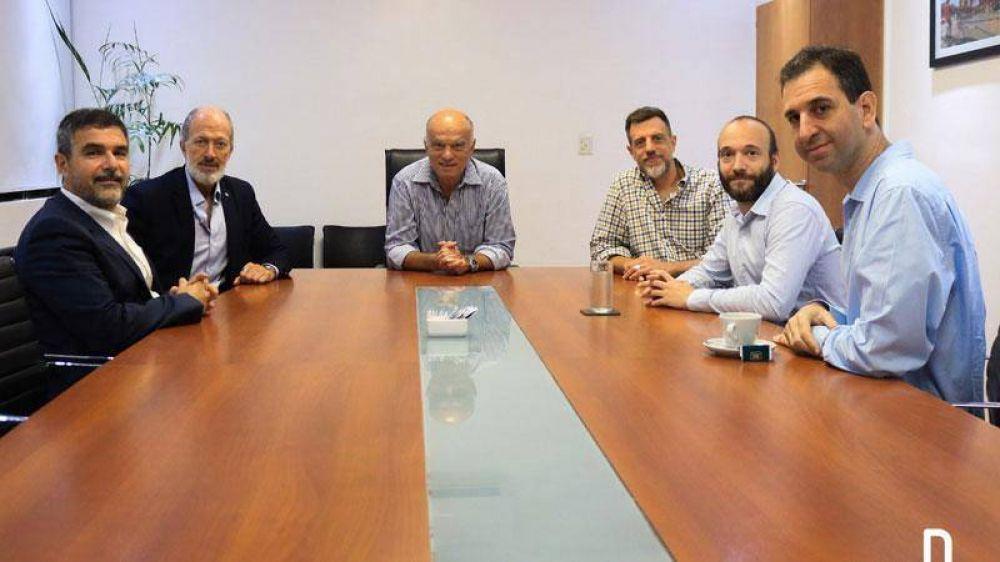 Grindetti recibió a la nueva comisión directiva de la DAIA