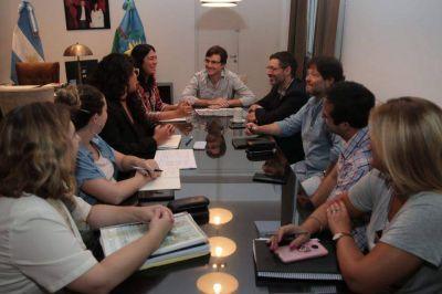 Ghi se reunió con la titular del Organismo Provincial para la Integración Social y Urbana por obras en el Barrio Carlos Gardel