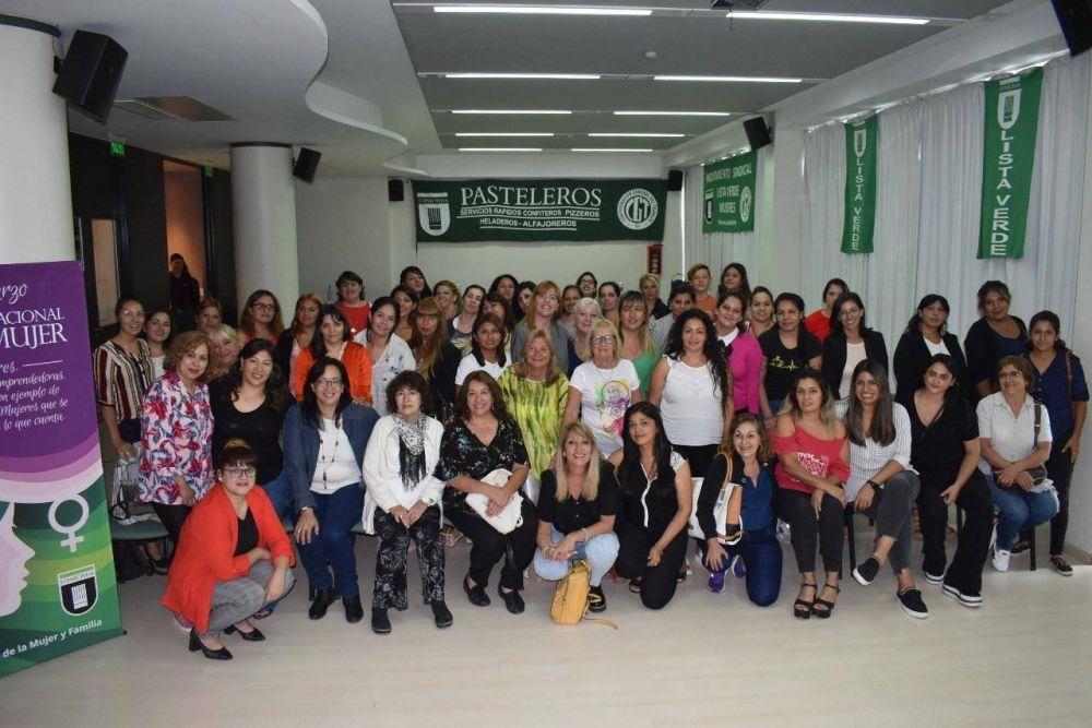 El sindicato de Pasteleros conmemoró el Día Internacional de la Mujer