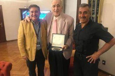 Autoridades de la Asociación Árabe Argentina Islámica recibidos por el Jefe de la Policía Federal