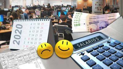 Las empresas darán aumentos salariales menores a la inflación pero habrá sectores