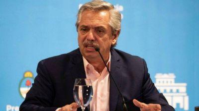 Alberto Fernández anunció el cierre de las fronteras y la suspensión de clases