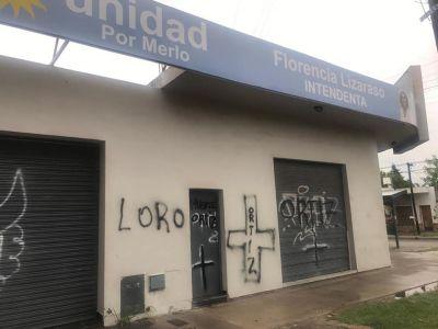 Pintadas amenazantes a Florencia Lizarazo