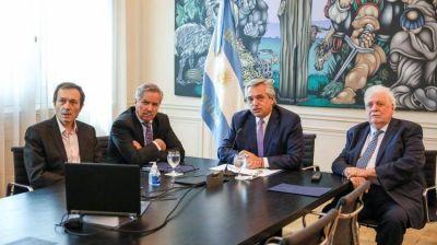 Alberto Fernández participó de una teleconferencia de presidentes de la región para coordinar medidas que frenen al coronavirus