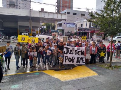 Varela: postergan por la pandemia el juicio de Ayelen Méndez