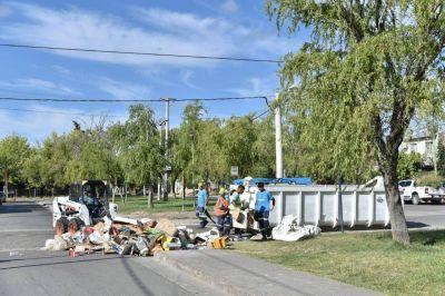 En Neuquén, suspenden el operativo Puerta a Puerta, pero garantizan la recolección de residuos domiciliarios
