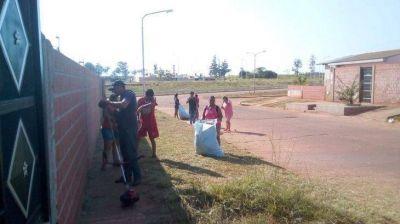 Vecinos de Itaembé Guazú se unen en tareas de prevención ante la emergencia epidemiológica