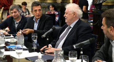 Massa con la oposición: recibieron a Ginés y decidieron trabajar a distancia
