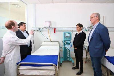 Kicillof puso en marcha el primer Centro de Emergencia para la pandemia en la Provincia