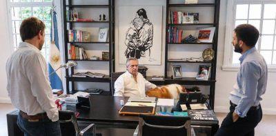 Alberto Fernandez en Olivos: un invitado de China y las dudas sobre una cuarentena total