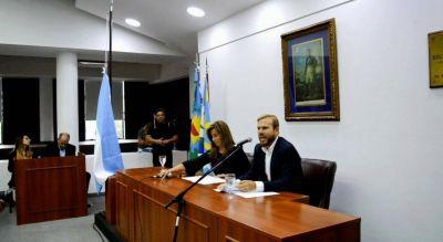 Gastón Granados abrió el período de sesiones ordinarias en Ezeiza