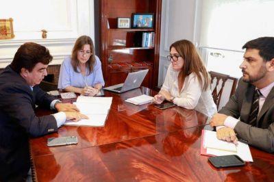 Fernando Espinoza se reunió con la ministra Sabina Frederick para delinear el regreso de la Gendarmería a La Matanza