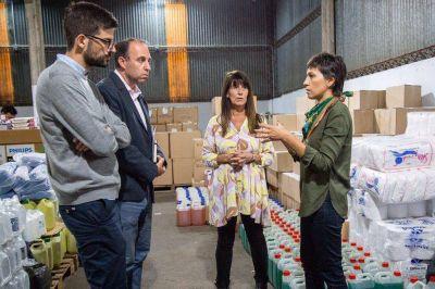Coronavirus: el Municipio de Quilmes compró artículos de limpieza y desinfección