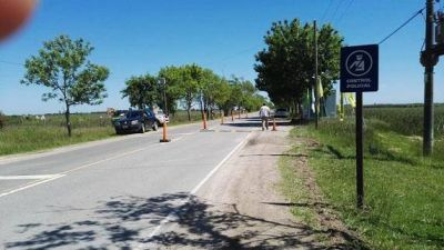 Lavalle: El intendente Ponte solicitó a la policía restringir el acceso al Casco Urbano