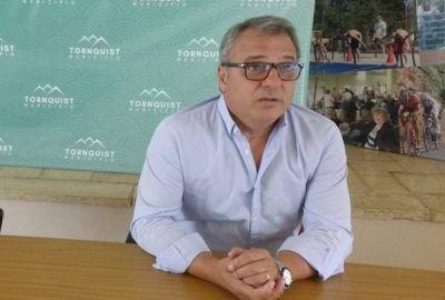 Bordoni ratificó que los turistas no pueden acceder al partido de Tornquist