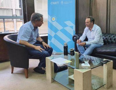 Municipio coordina agenda con Banco Provincia y Transporte