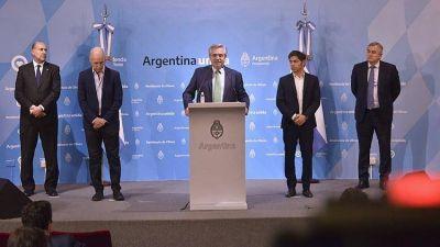 Alberto Fernández buscó un delicado equilibrio político para mostrar consenso y legitimidad al anunciar la cuarentena obligatoria