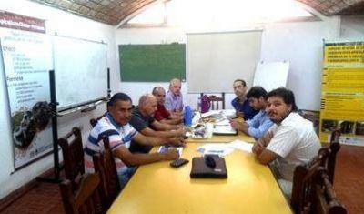 El RENATRE participó de una reunión sobre riesgos del trabajo
