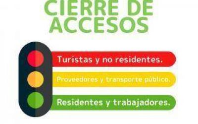 Ramallo: Cierre de accesos a turistas y no residentes para evitar circulación poblacional