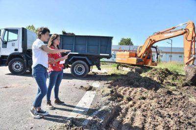 Comenzaron las obras del hospital modular de emergencia en Bernal Oeste