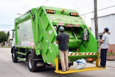 Calendario de recolección de residuos