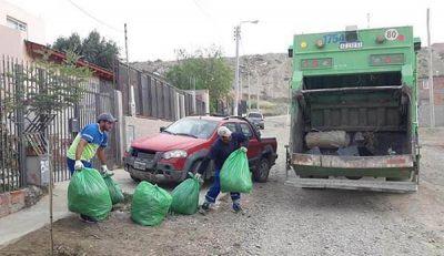 Higiene Urbana mantiene la recolección a domicilio