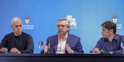 De guerras y comandantes: qué se juegan Fernández, Larreta y Kicillof