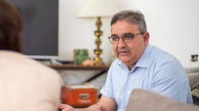 Jalil coordina con Nación el operativo de contingencia social