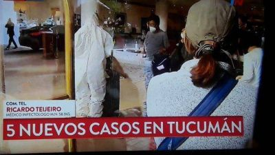 Reporte diario: de 41 nuevos casos de coronavirus cinco corresponden a Tucumán