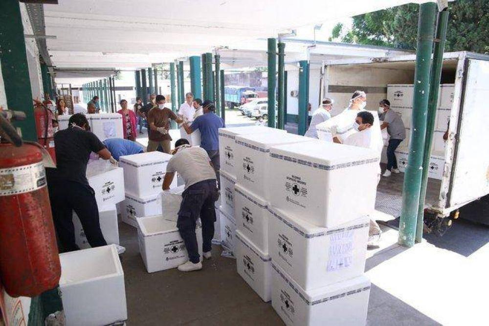 La Provincia recibe más de 100.000 dosis antigripales y prepara su distribución