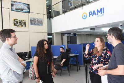 Ghi se reunió con las autoridades de PAMI Morón por los adultos mayores que se encuentran solos