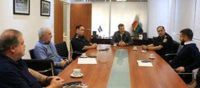 Lanús: el área de seguridad coordina acciones durante el período de aislamiento social