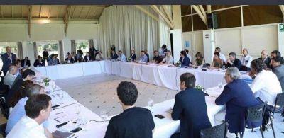 Grindetti presente en la reunión con intendentes convocada por el presidente Alberto Fernández