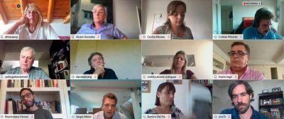 Reunión virtual en Diputados: analizaron la situación económica y sólo sesionarán si es urgente