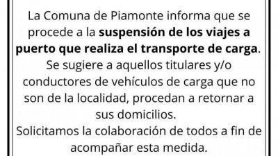 Los intendentes desoyen al Gobierno y prohíben la libre circulación de camiones