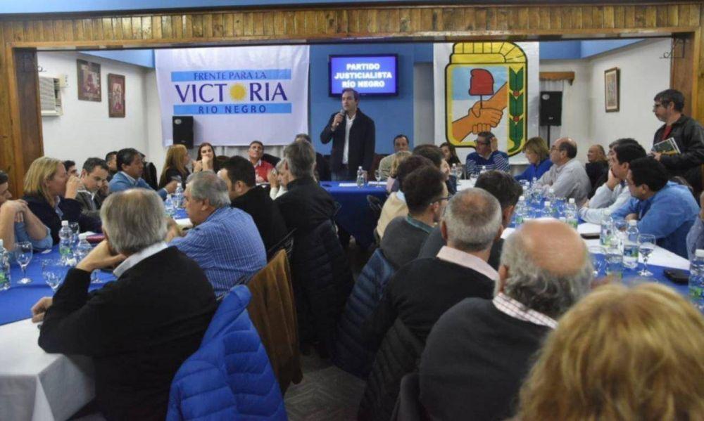 Sin cuarentena: el PJ de Río Negro tiene lista de unidad y ya piensa en 2021