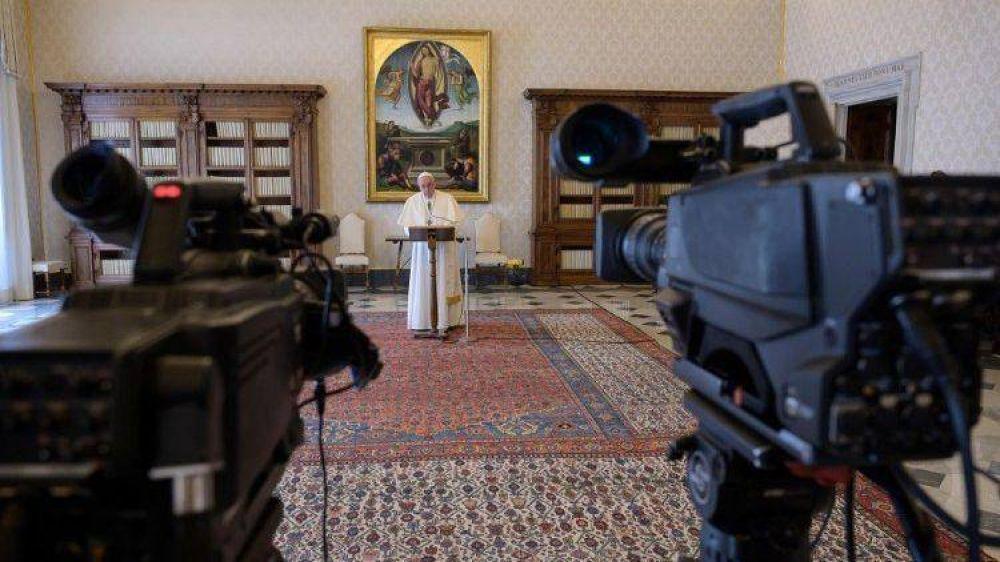 Las ceremonias del Papa continuarán por TV y por streaming