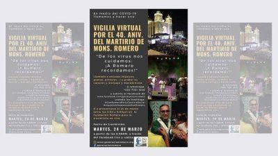 40 aniversario del asesinato de San Romero