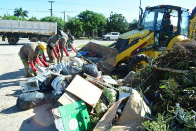 El Plan de Limpieza Integral del municipio continúa aportando a la salud pública