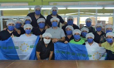 Fontex intensifica su producción de mamelucos y barbijos para abastecer a todo el sistema de salud de la provincia