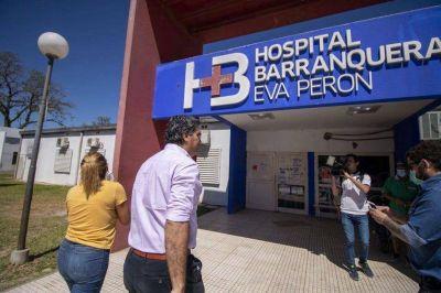 Coronavirus: amplían el hospital de Barranqueras para derivar casos de menor complejidad