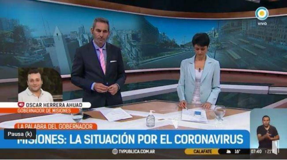 """Coronavirus: Herrera Ahuad aseguró que el sistema de salud """"está preparado para la pandemia"""""""