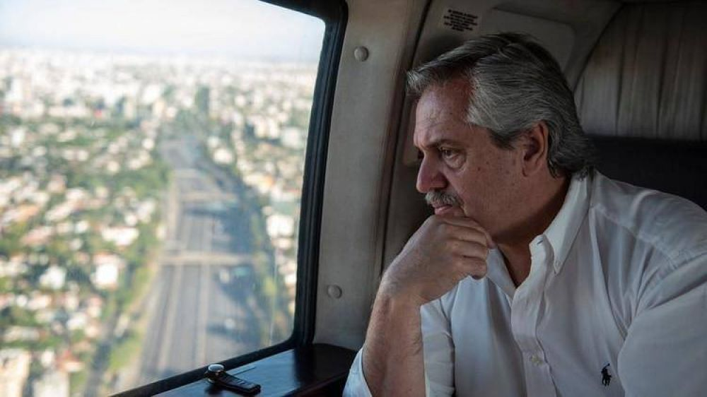 Alberto Fernández espera el pico del coronavirus en mayo y diseñó un plan específico para la Capital y el Conurbano
