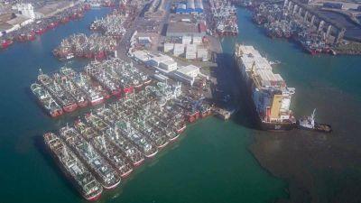 El puerto de Mar del Plata opera con dificultades